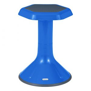 Learniture Active Learning Stool, 18″ H, Blue, LNT-3046-18BL
