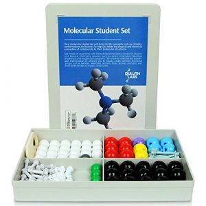 Duluth Labs Organic Chemistry Molecular Model Student Kit – (54 Atoms and 70 Bond Parts) – MM-003