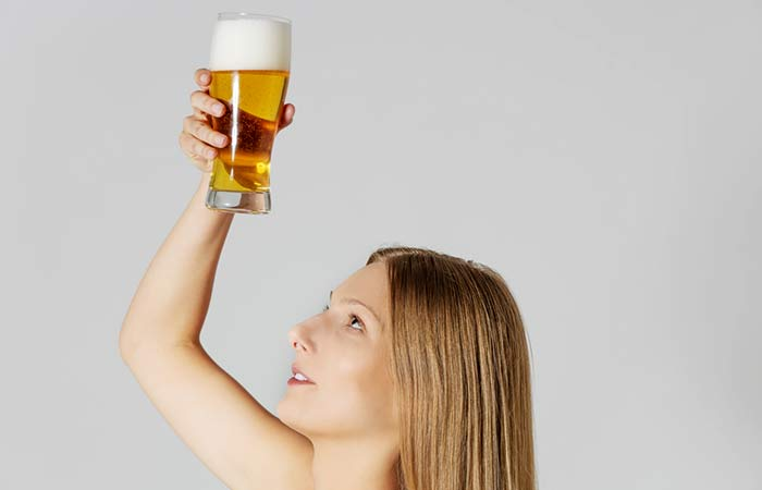 Beer for hair