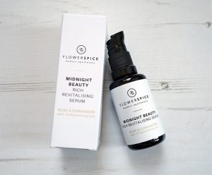 Flower and Spice Midnight Beauty Rich Revitalising Serum (Review + Giveaway)