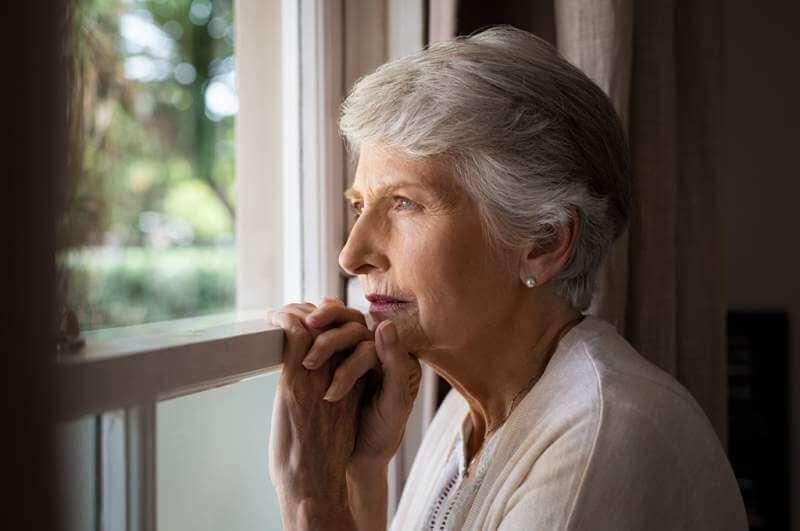 lonely-senior-woman