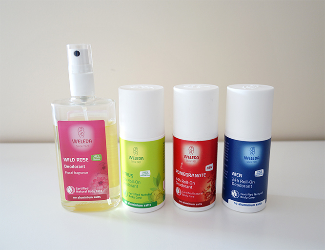 natural deodorants from Weleda
