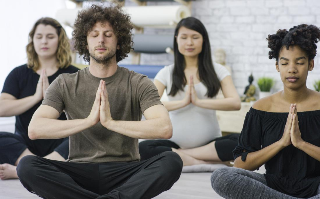 Studies suggest that yoga can help treat binge eating.