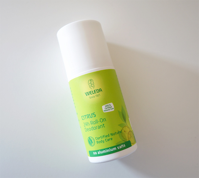 Weleda Citrus roll-on deodorant