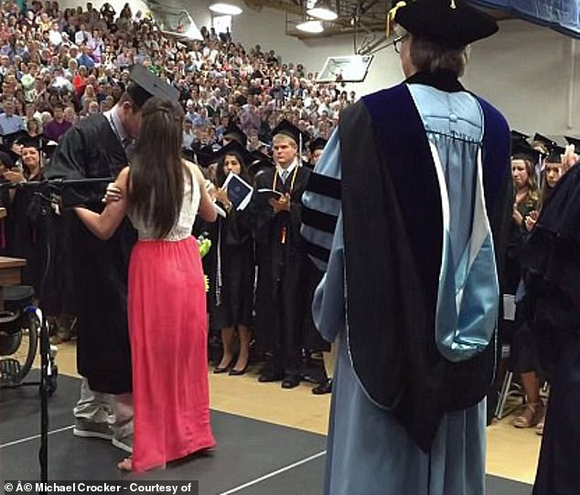The graduation video and their story went viral, but it was the start of depression for Emily