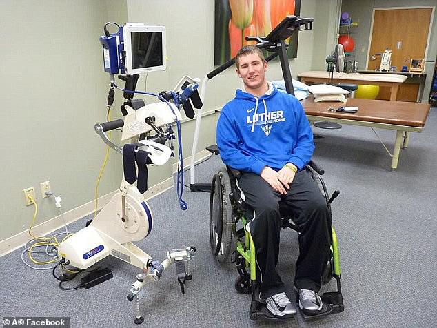 He is still battling to gain more mobility with constant physical therapy