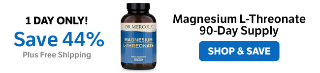 ​Save 44% on a Magnesium L-Threonate 90-Day Supply
