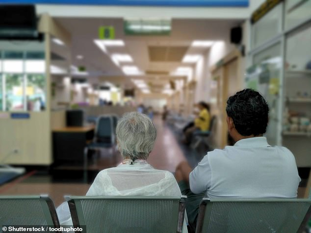 More than a third of cancer patients are still having to go to their GP at least twice before being sent to hospital for tests (file image)