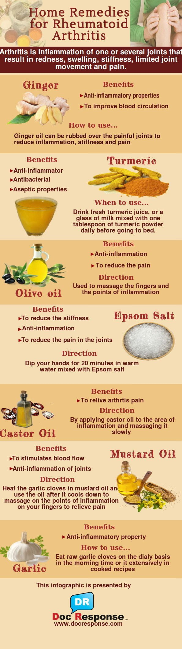 Herbal Remedy Effective For Rheumatoid Arthritis Joint Pain