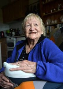 'I've never been lonely in my life. I was married three times .. and am open to dating' – Maura (86)