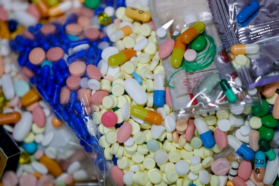 If the case proceeds Monday, two Ohio counties particularly hard-hit by the epidemic will face off against six drug companies.