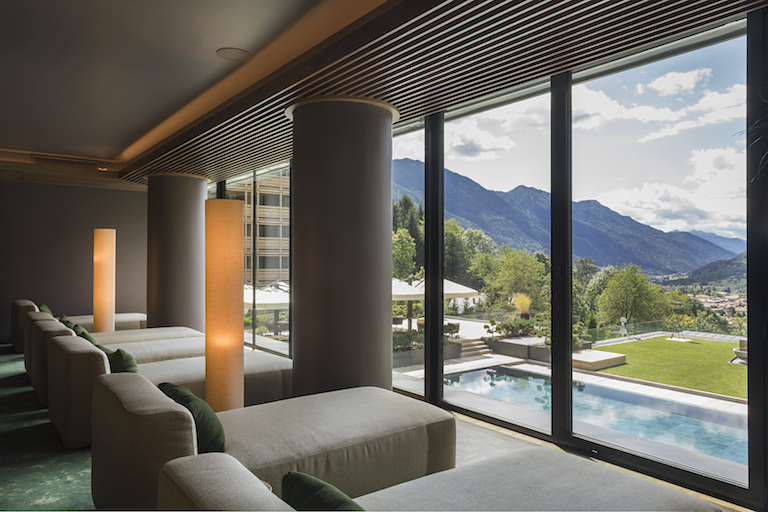 Lefay spa views eco-spa