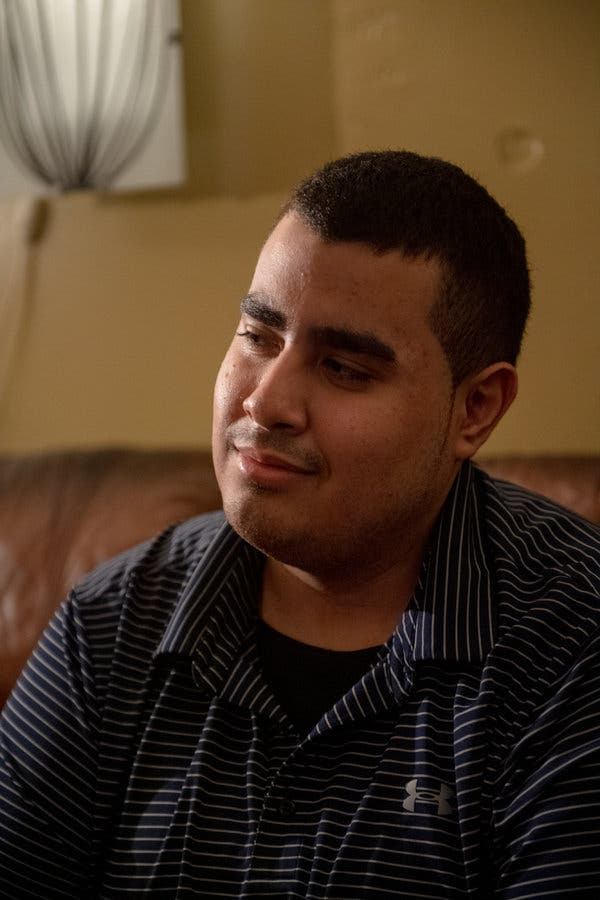 """Gregory Rodriguez has been home since Sept. 30.""""When I climb stairs, it feels like climbing a mountain,"""" he said. """"When I run a couple of steps, it feels like I ran a marathon."""""""