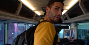 Watch the 'Yes Theory' Guys Take an 84 Hour Bus Ride Across America