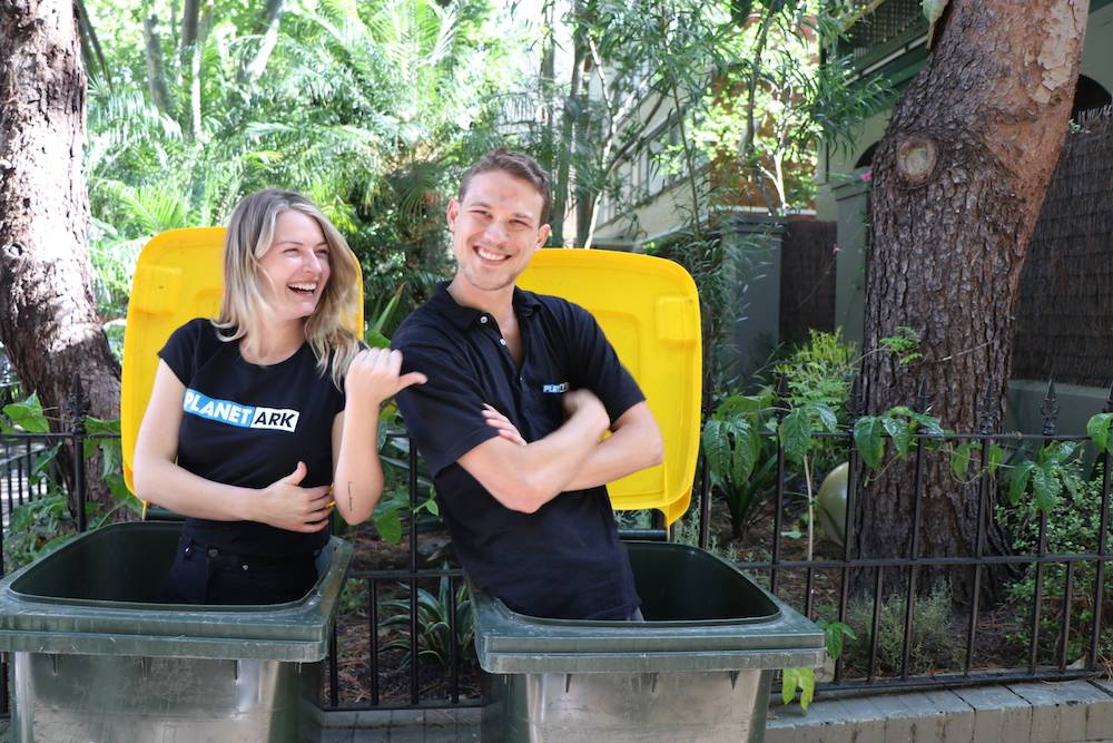 Reduce, reuse, recycle: Planet Ark launched recyclingnearyou.com.au in November 2006. Here you can find out about what you can and can't recycle.