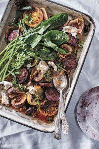 Recipe: A Sweet & Rich Creamy Roasted Fig, Walnut & Goat's Cheese Salad