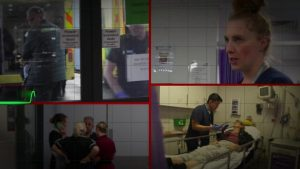 Sickest NHS patients 'face hours on trolleys'
