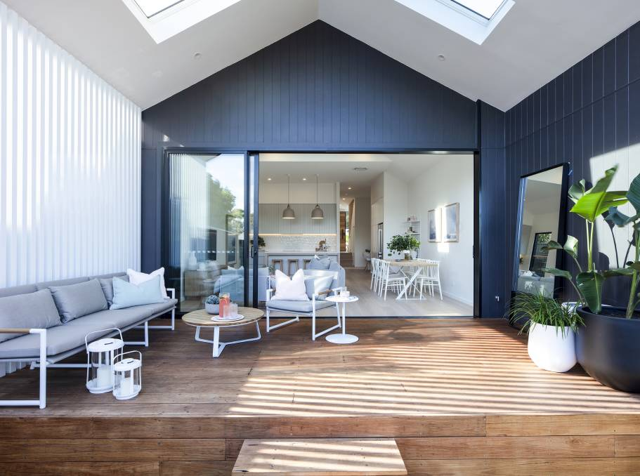 BRIGHTEN UP: Create or replace an extension that will accommodate more window space and sky lights.