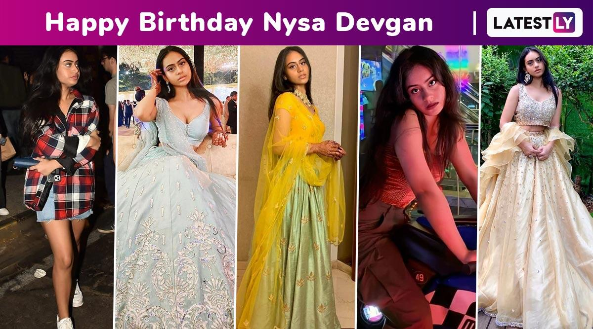 Happy Birthday, Nysa Devgan! The Millennial With a Style Vibe, Spunk and Sass to Boot Is a Hoot!